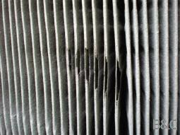 Wenn Filterpatronen partielle Beschädigungen aufweisen